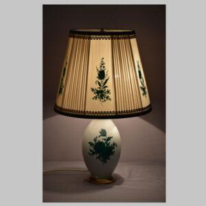 Porzellan Stehlampe, Augarten