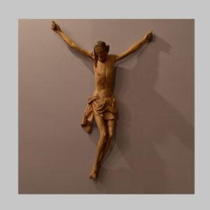 Christuskorpus, geschnitzt