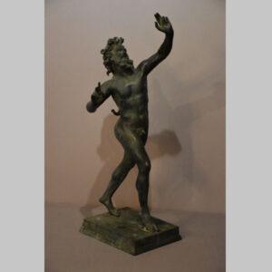 Bronzereplik Faun Pompeji
