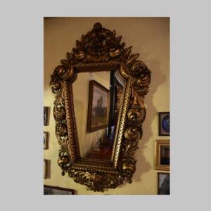 Wandspiegel, Florentiner Rahmen