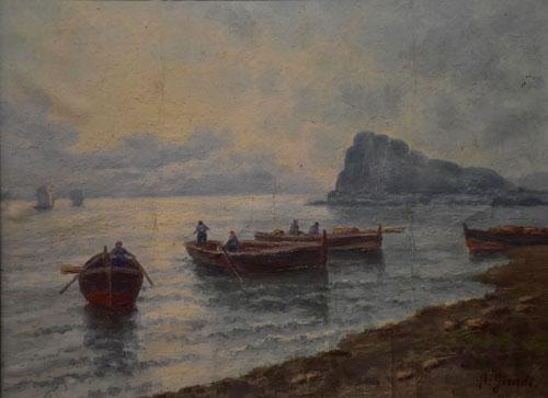 A. Giradi, Küstenlandschaft