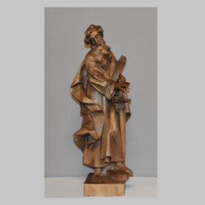 Heiliger Paulus, Holzskulptur, 20. Jhd.