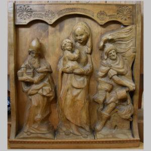 Holzrelief, Urschitz und Söhne