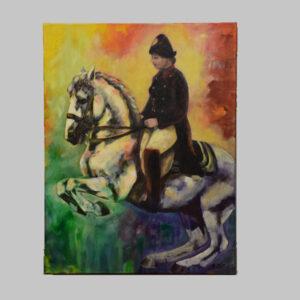 Maderthaner, Reiter zu Pferd, 21. Jhd.