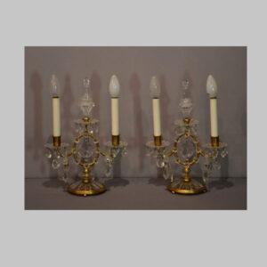Kristallleuchter, Stehlampe, Lobmeyr