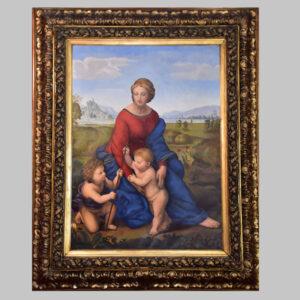 Raffael, Madonna im Grünen, Altmeisterkopie