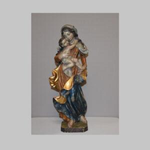 Madonna mit Kind, Geschnitzt, Südtirol