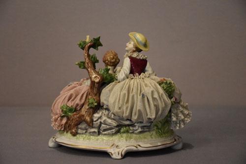 Manufaktur Unterweißenbach, Porzellan Skulptur