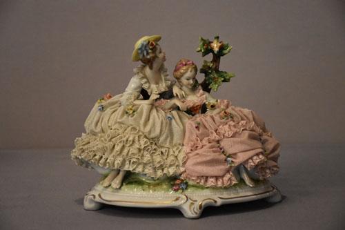 Porzellan Skulptur, Manufaktur Unterweißenbach
