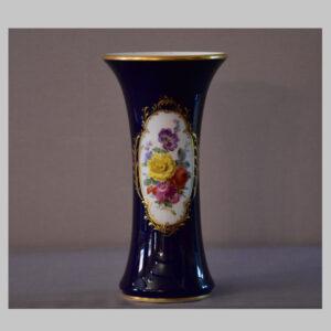 Vase, Meißen, Blumendekor