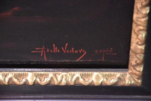 Vedovs, Altmeisterkopie, Rembrandt in jungen Jahren