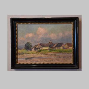 Wilhelm Langer, Landschaftsmalerei