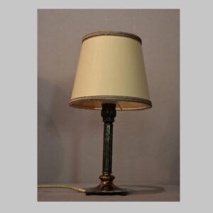 Stehlampe versilbert